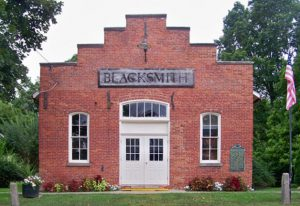 Historical Blacksmith Shop Manchester MI