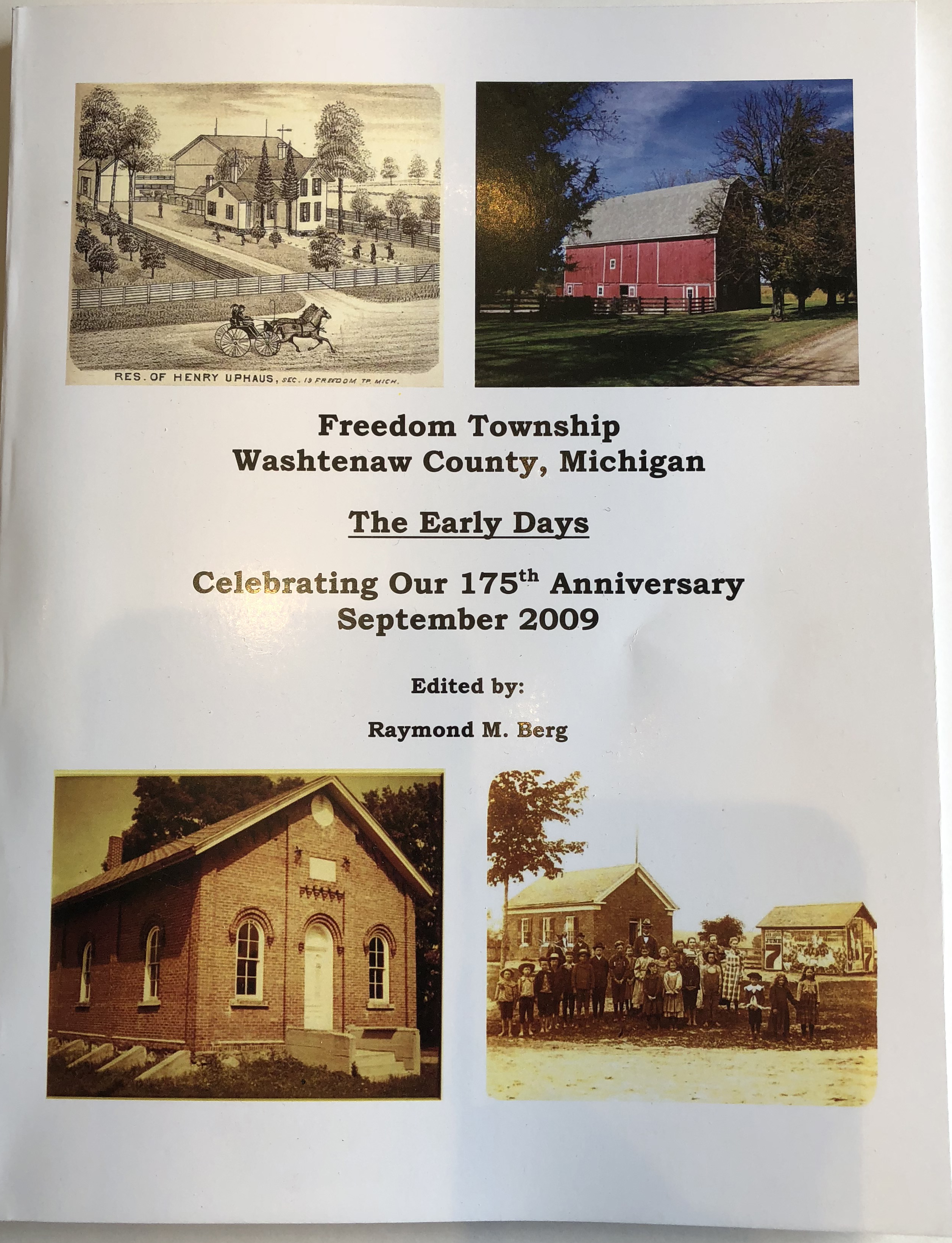 Freedom Township History Book