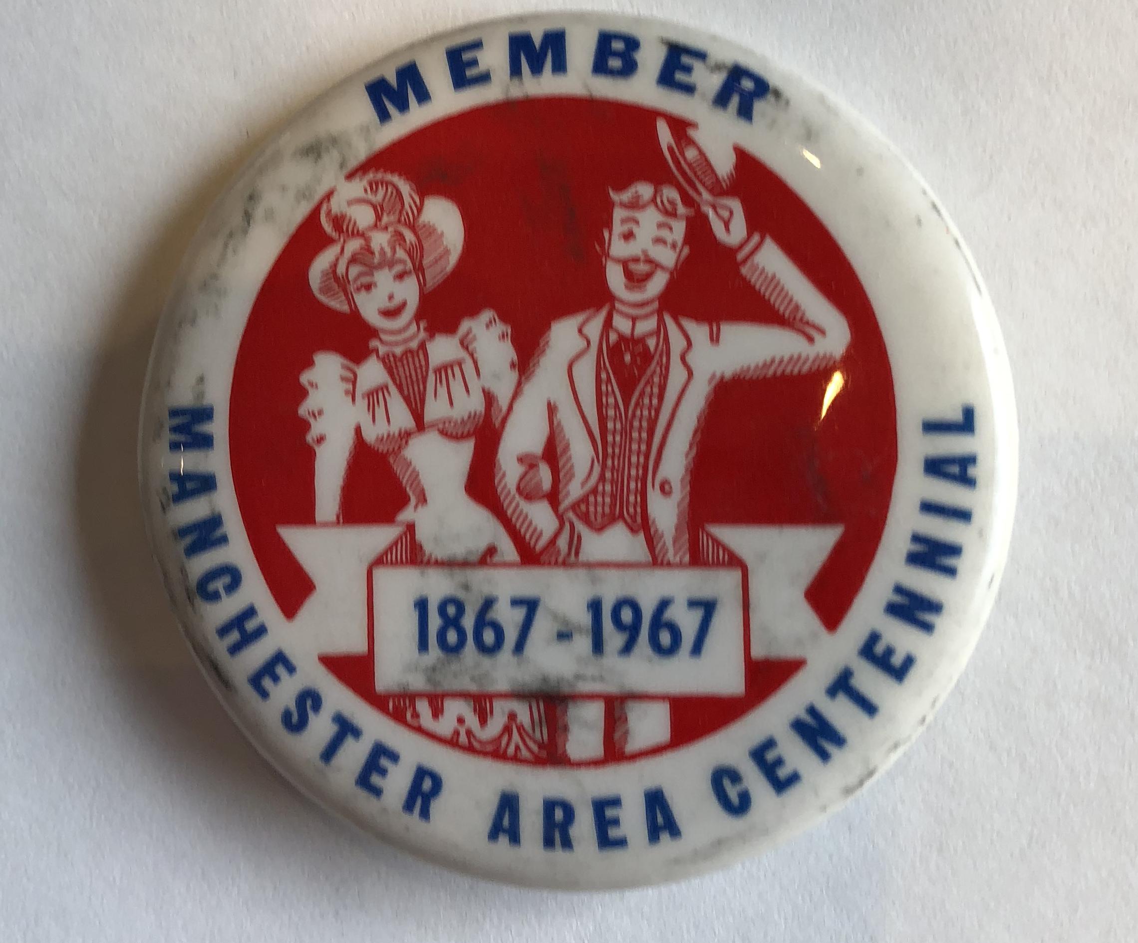 Manchester Centennial Pin